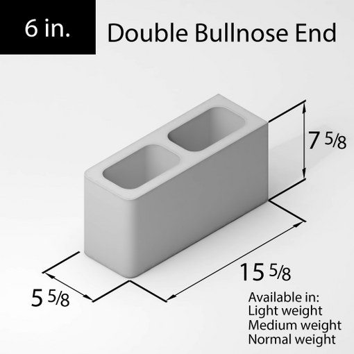 25-block-6in-double-bullnose-end