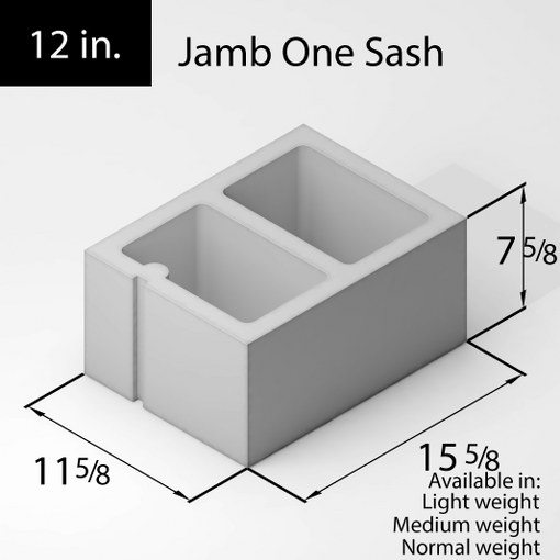 79-block-12in-jamb-one-sash