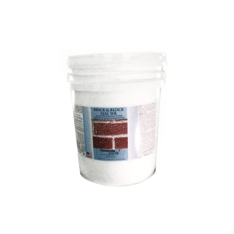 brick and block water repellent seal
