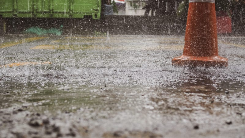 Rainy season construction can be a hassle, but it doesn't have to be